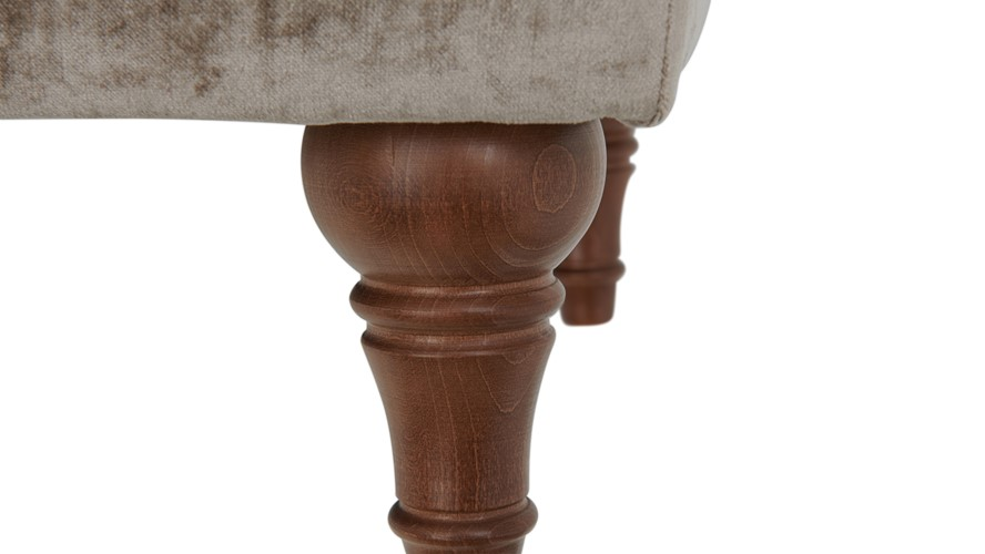 Classic Buttoned Stool
