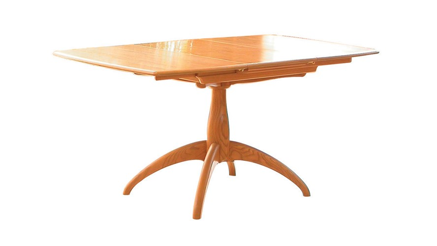 Ercol Windsor Small Extending Pedestal Table