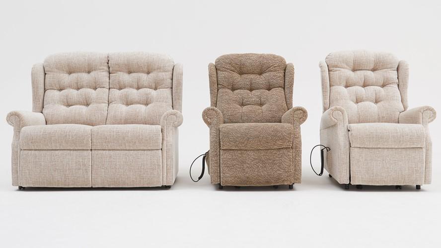 Celebrity Woburn Fabric Compact Dual Lift & Tilt Recliner Armchair
