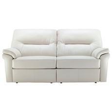 G Plan Washington Leather 3 Seater Sofa