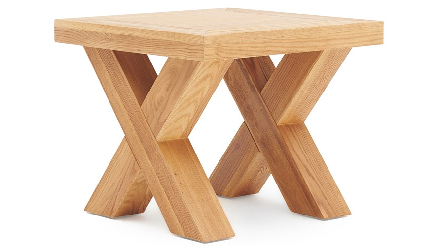 X Lamp Table